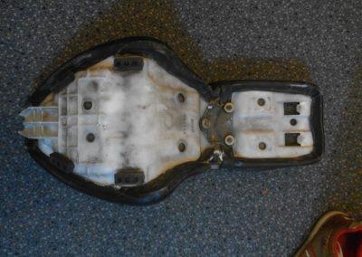 Honda Shadow seat - before