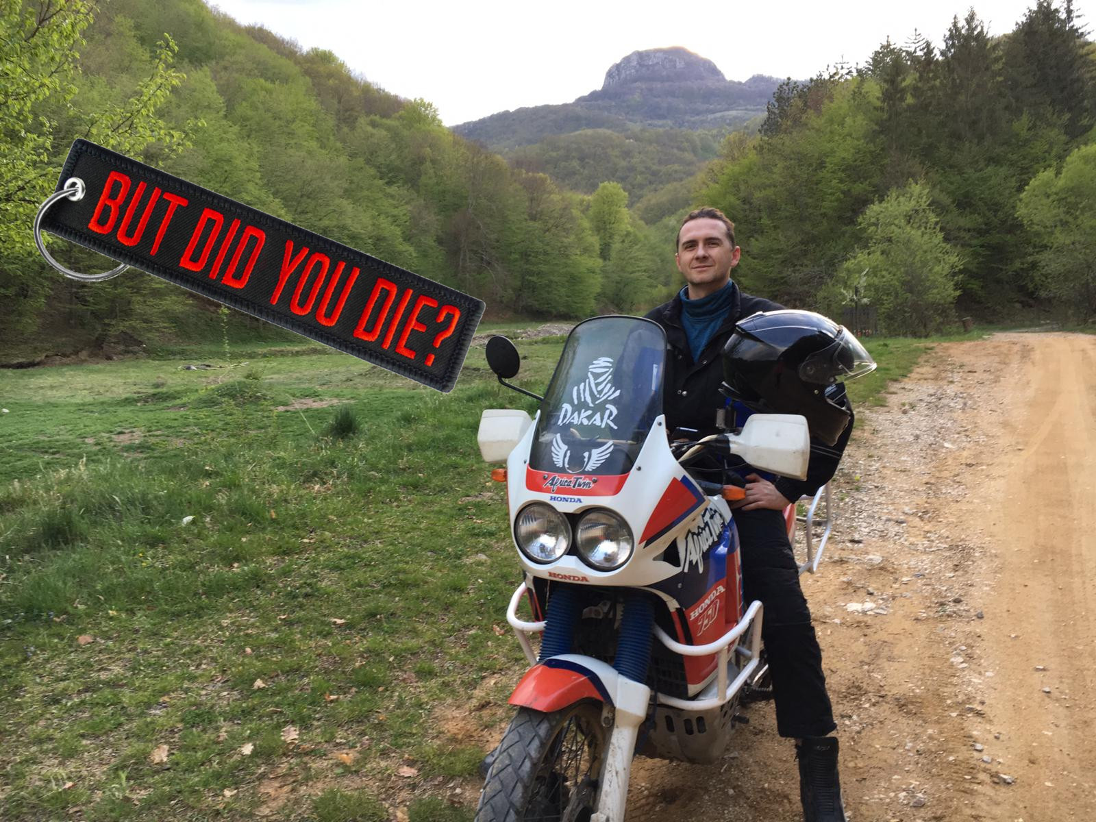 But did you die Africa Twin XRV 750